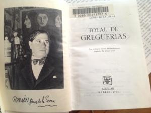 Total de greguerías, edición de 1962